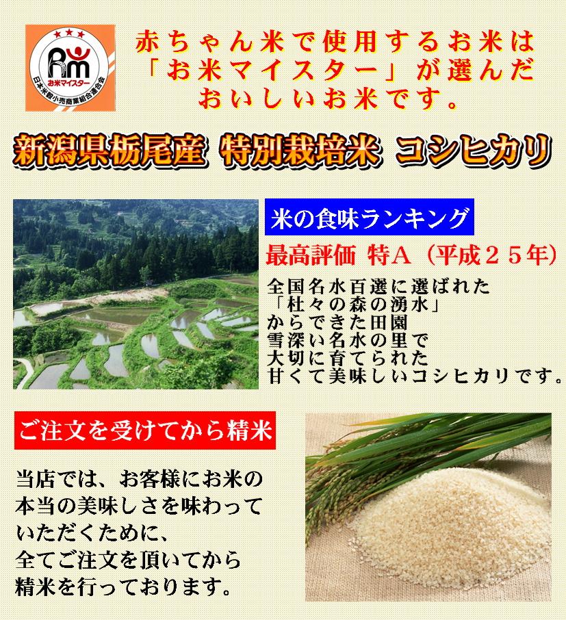 栃尾産コシヒカリ